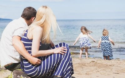 Sun, Sea and Sand at Crawfordsburn: Northern Ireland Family Photographer