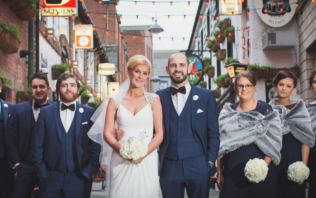 Belfast Cathedral Quarter Wedding & La Mon Reception