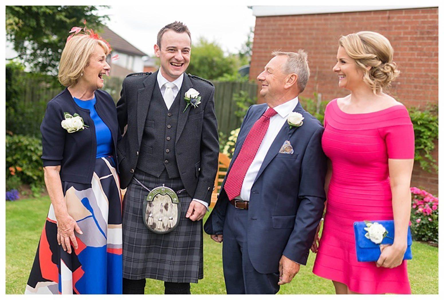 Ballygally Castle Wedding Photographs by Ricky Parker Photography-13