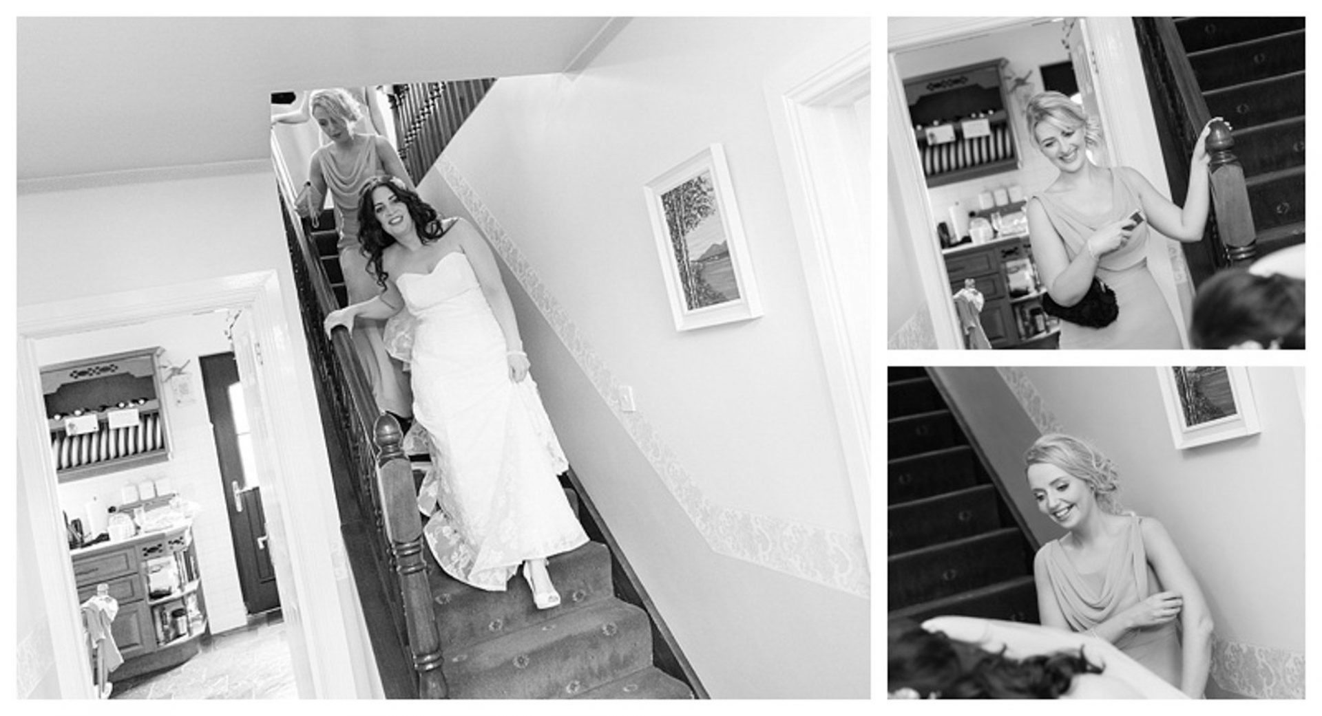 Ballygally Castle Wedding Photographs by Ricky Parker Photography-14
