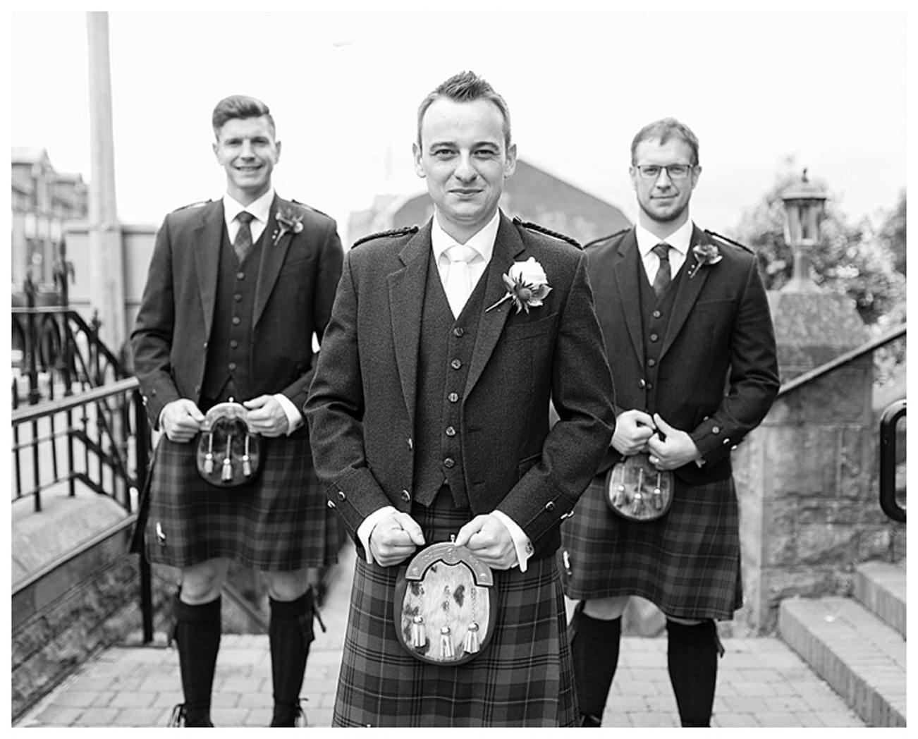 Ballygally Castle Wedding Photographs by Ricky Parker Photography-15