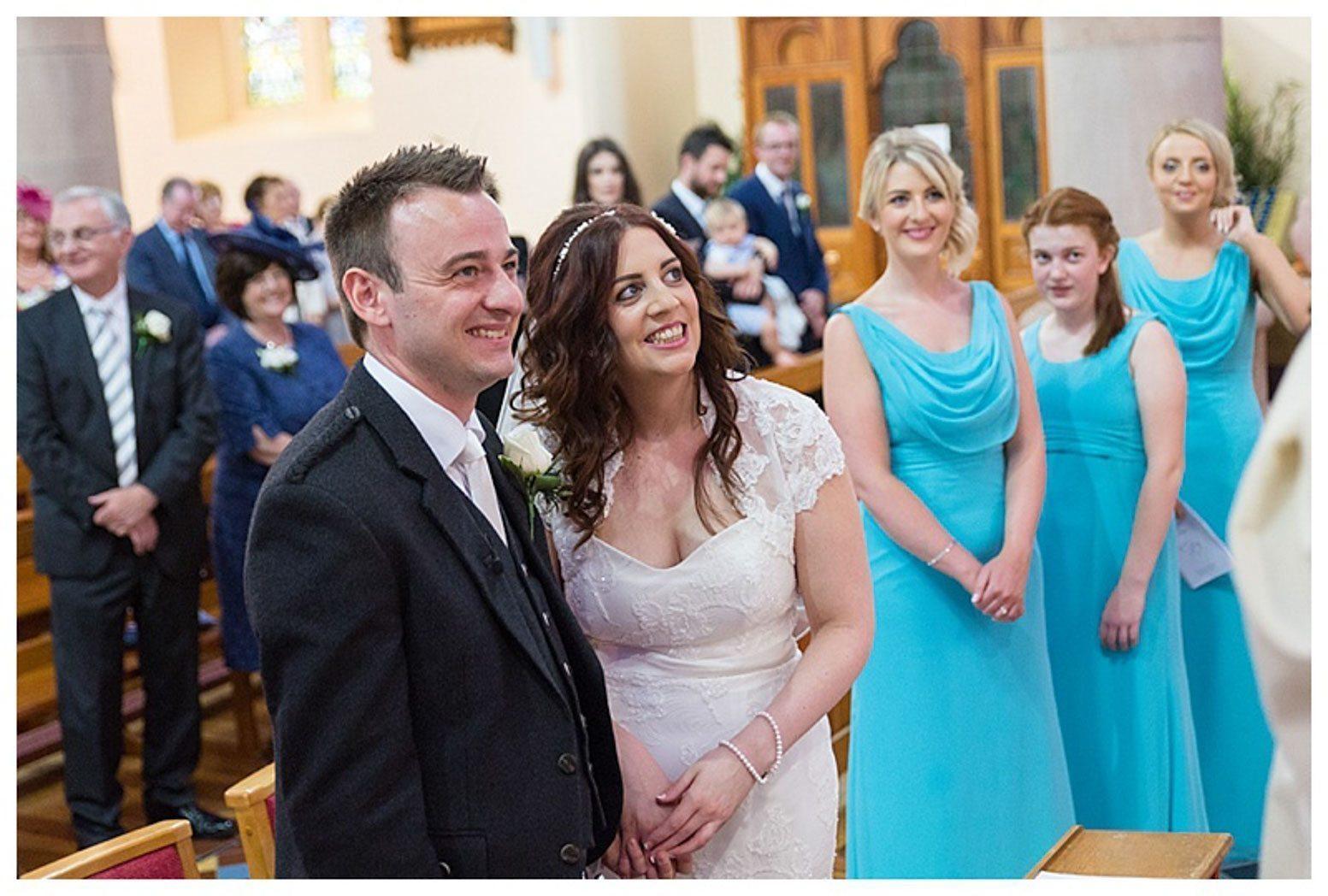 Ballygally Castle Wedding Photographs by Ricky Parker Photography-28