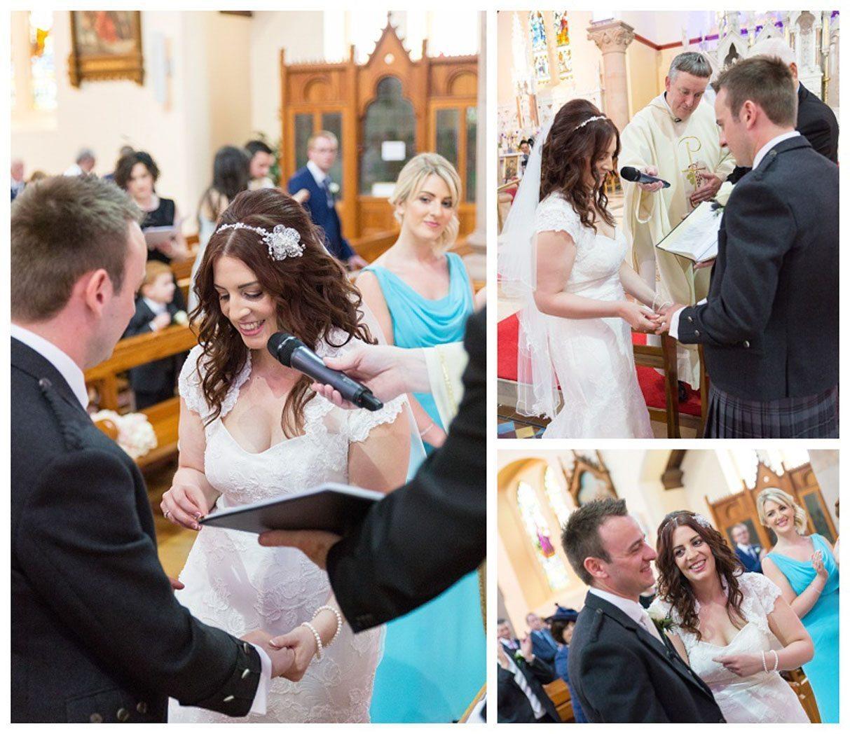 Ballygally Castle Wedding Photographs by Ricky Parker Photography-29