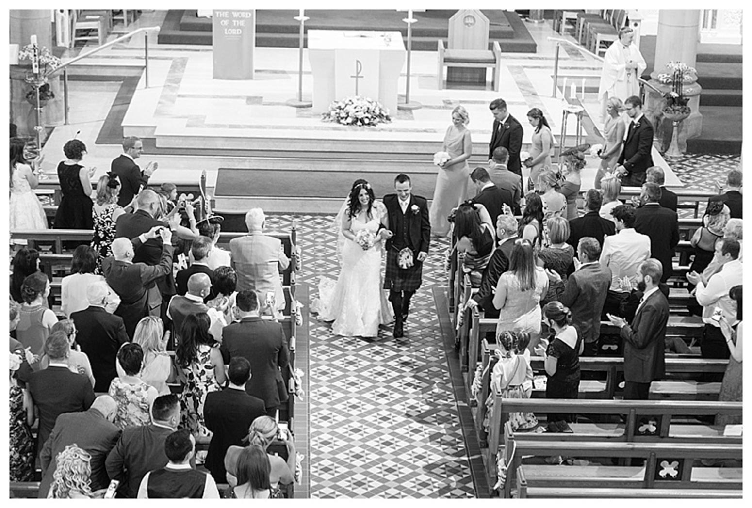 Ballygally Castle Wedding Photographs by Ricky Parker Photography-30
