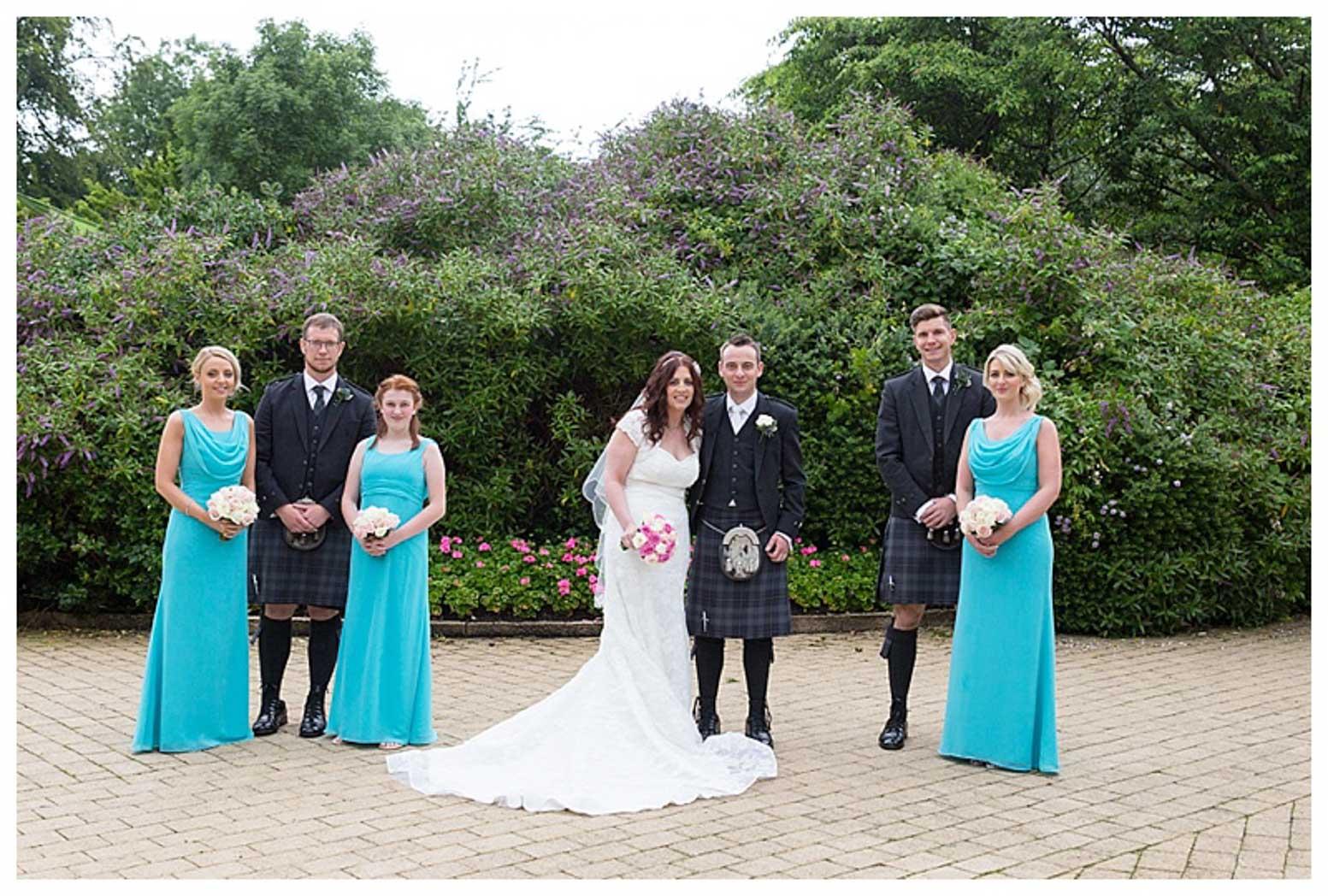 Ballygally Castle Wedding Photographs by Ricky Parker Photography-32