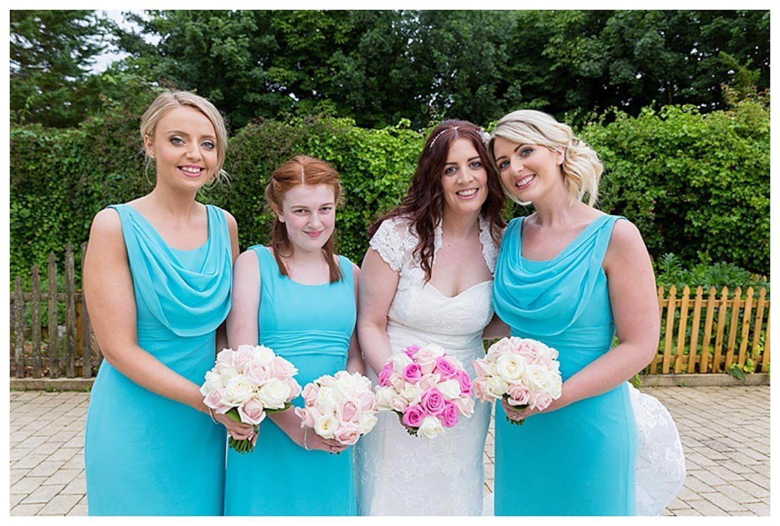Ballygally Castle Wedding Photographs by Ricky Parker Photography-33
