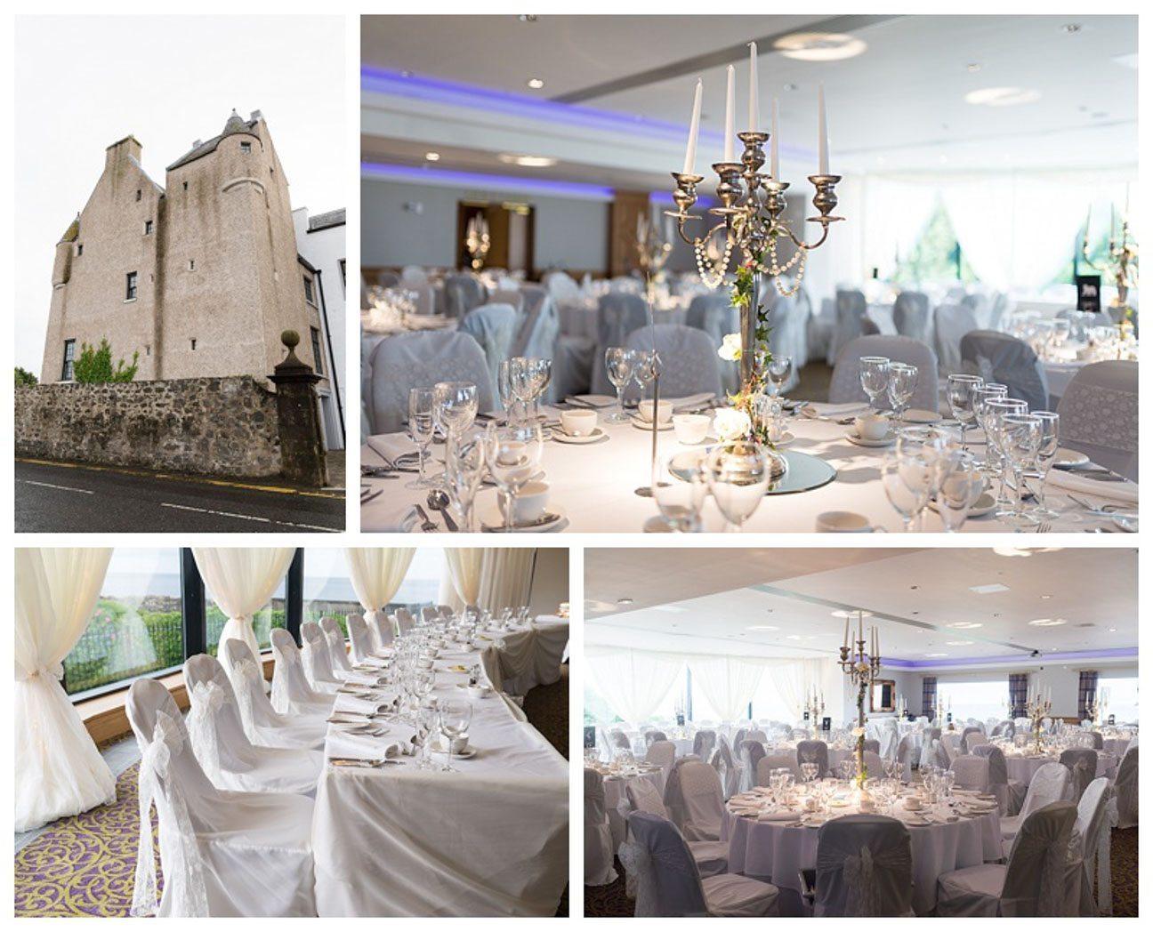 Ballygally Castle Wedding Photographs by Ricky Parker Photography-38