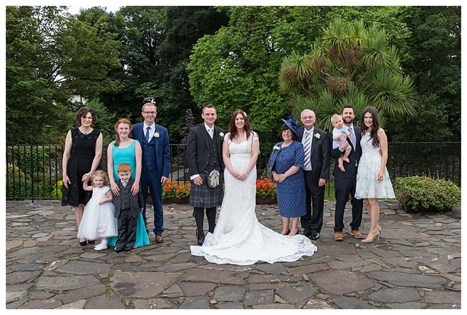 Ballygally Castle Wedding Photographs by Ricky Parker Photography-41
