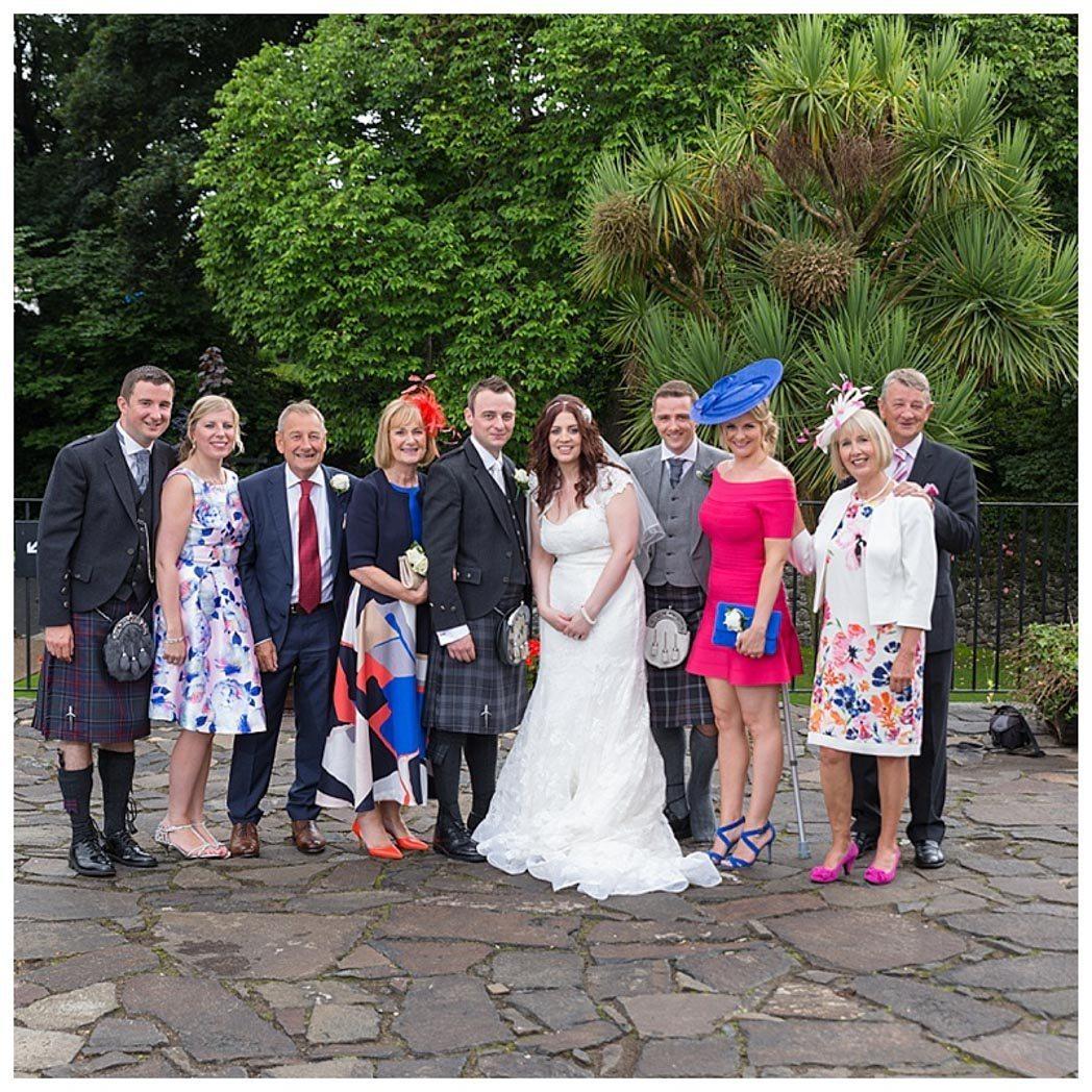Ballygally Castle Wedding Photographs by Ricky Parker Photography-42