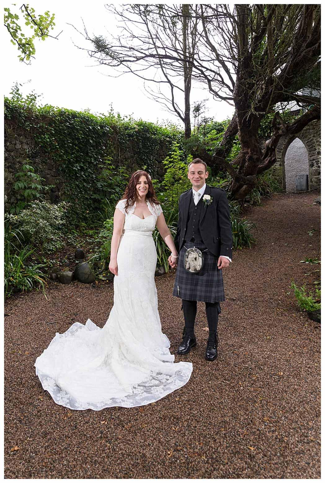 Ballygally Castle Wedding Photographs by Ricky Parker Photography-43