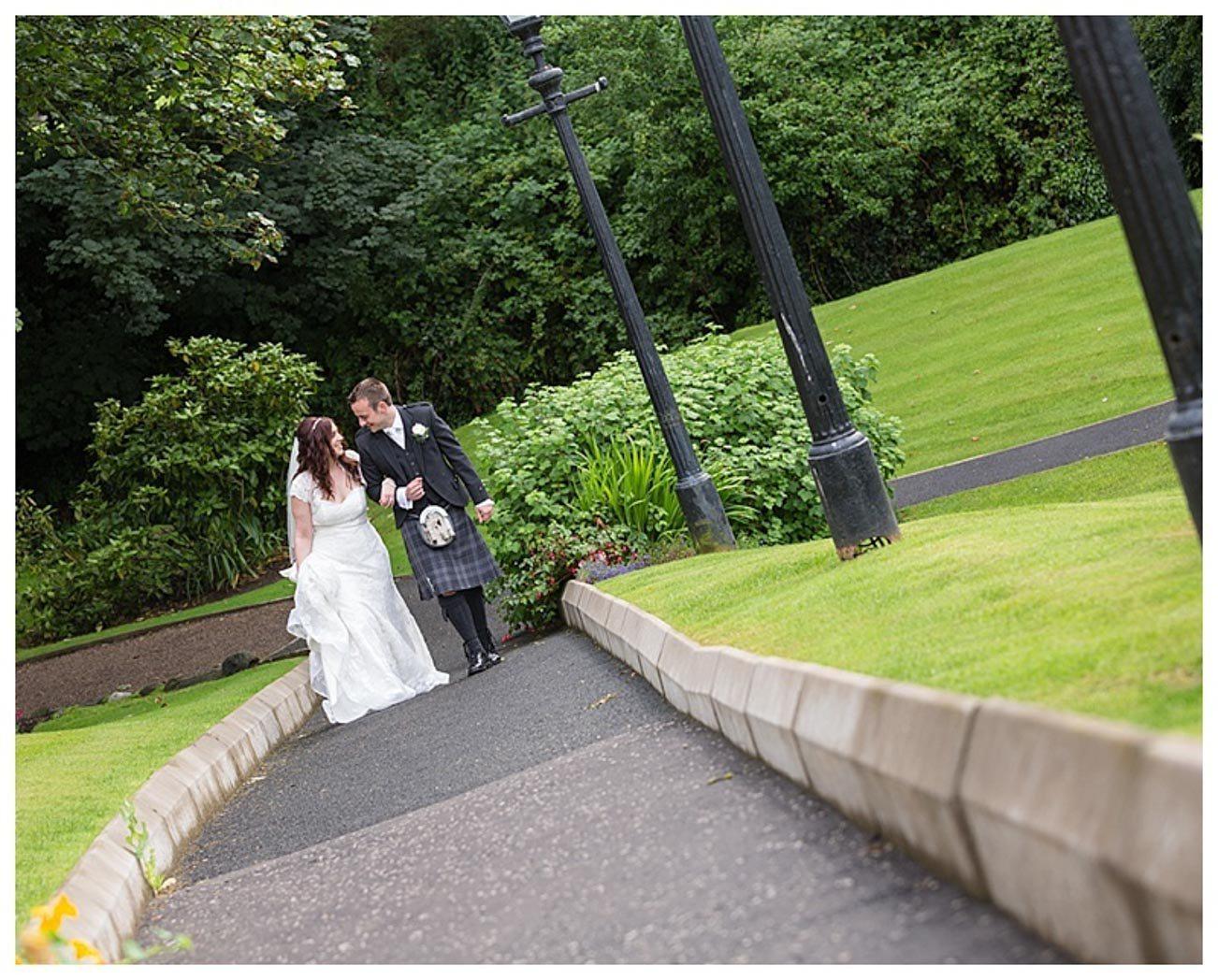 Ballygally Castle Wedding Photographs by Ricky Parker Photography-46