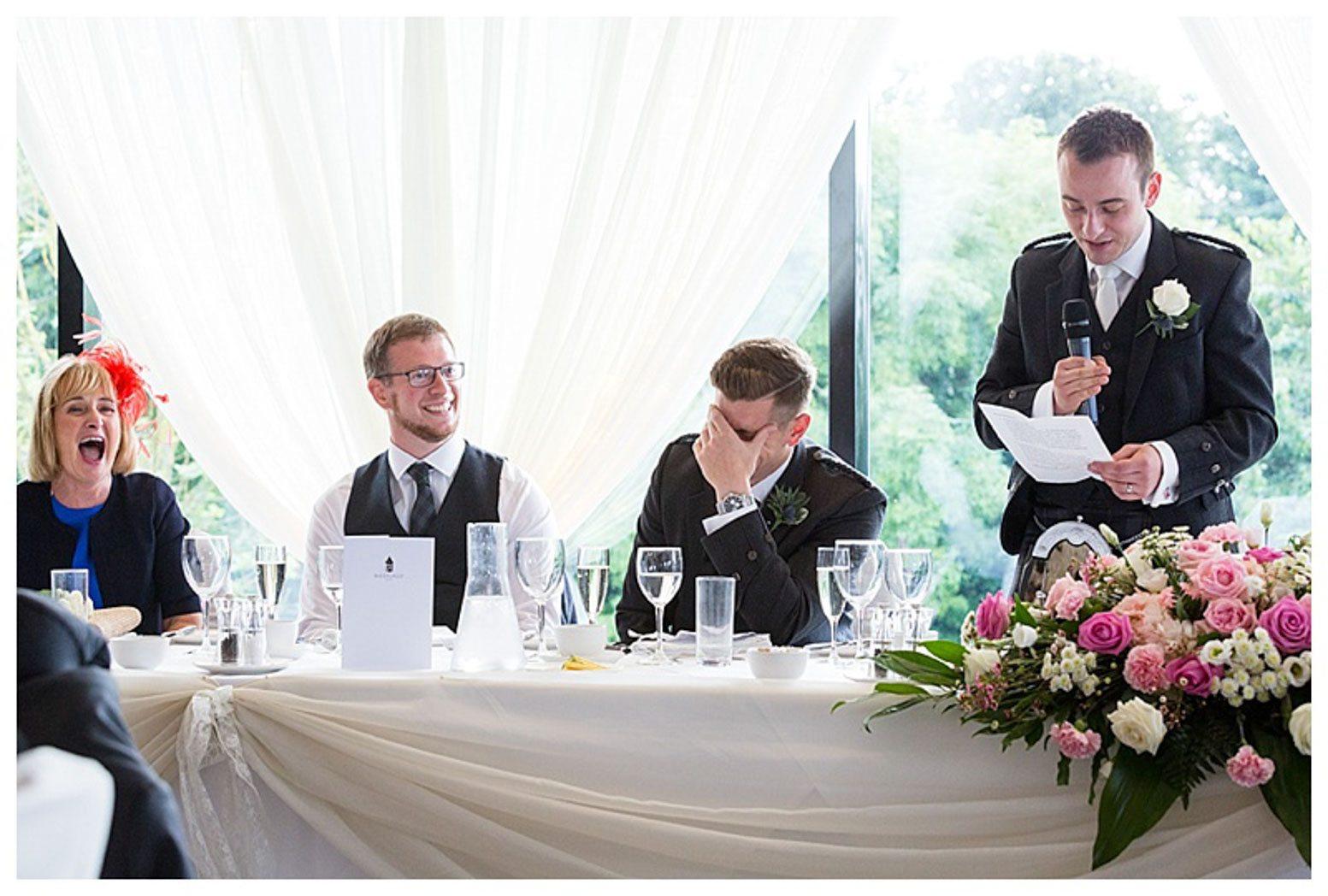 Ballygally Castle Wedding Photographs by Ricky Parker Photography-52
