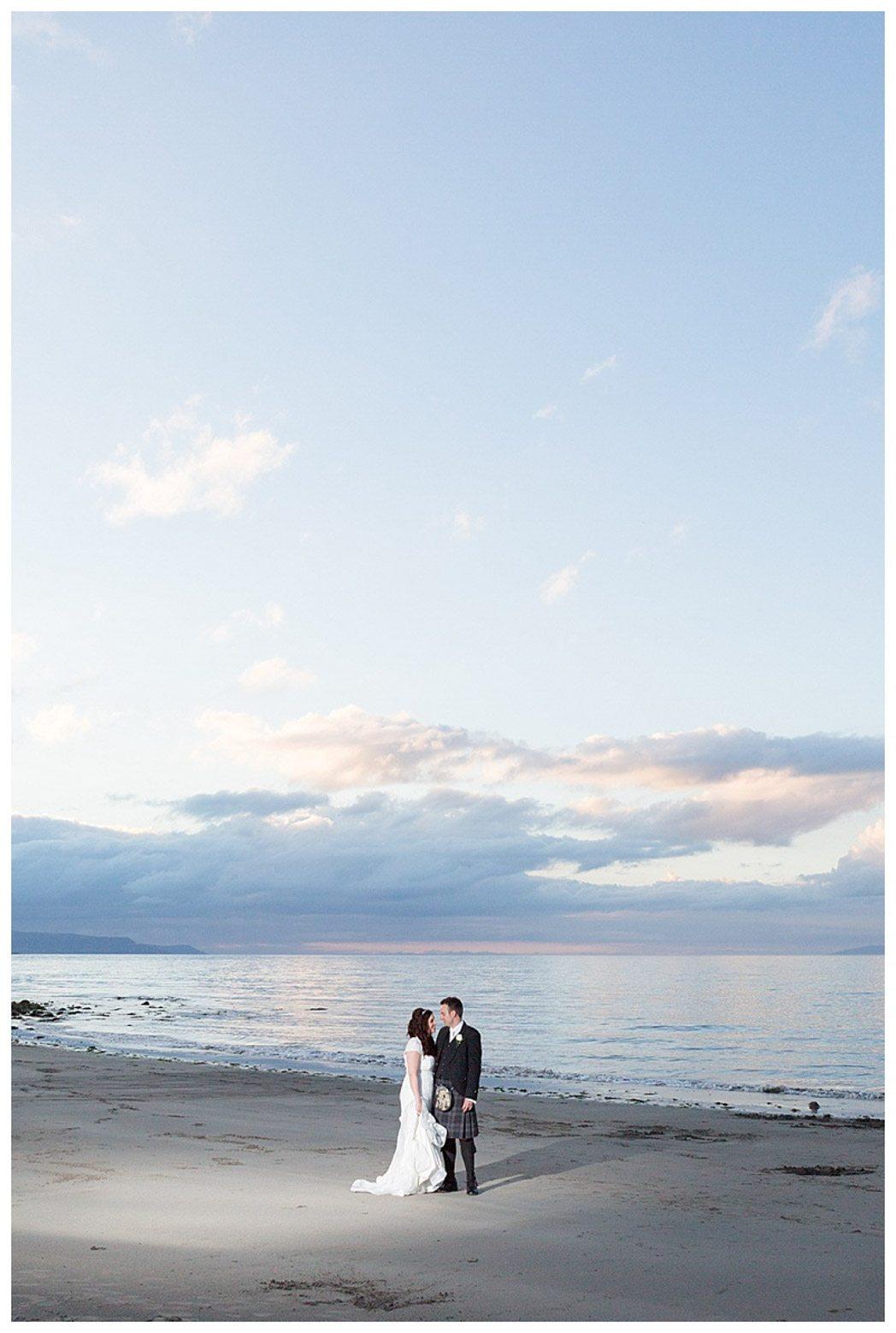 Ballygally Castle Wedding Photographs by Ricky Parker Photography-60