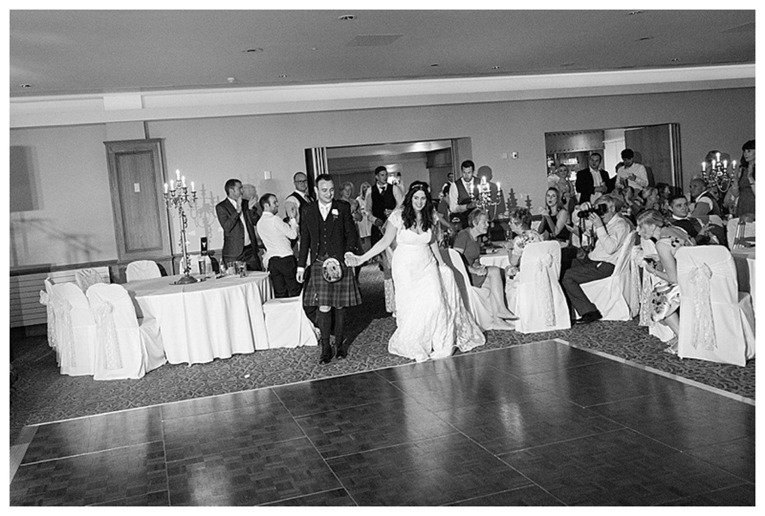 Ballygally Castle Wedding Photographs by Ricky Parker Photography-62