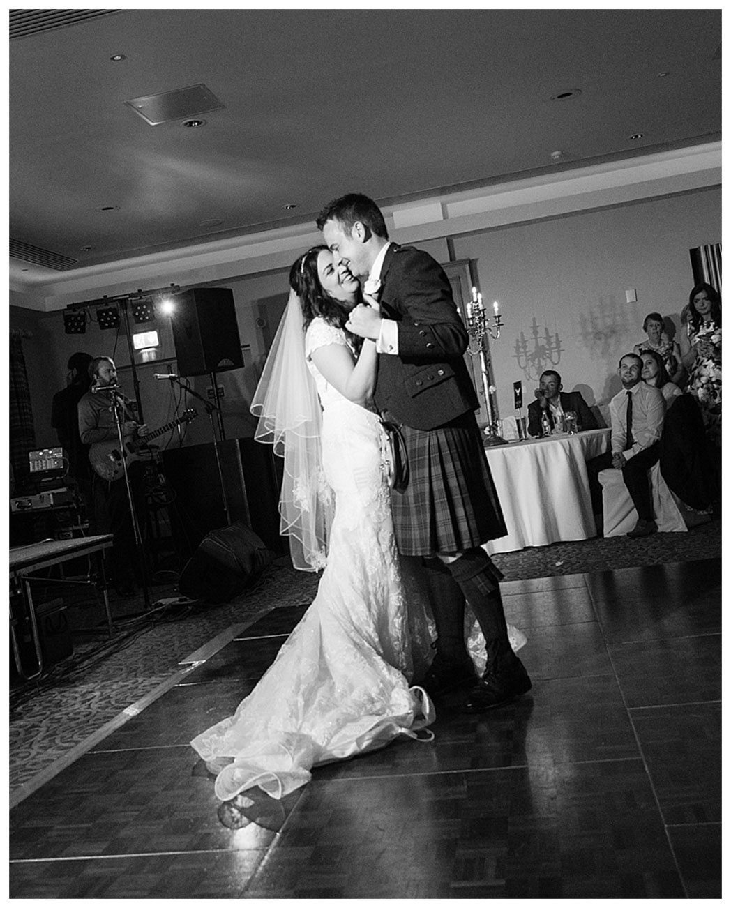 Ballygally Castle Wedding Photographs by Ricky Parker Photography-65