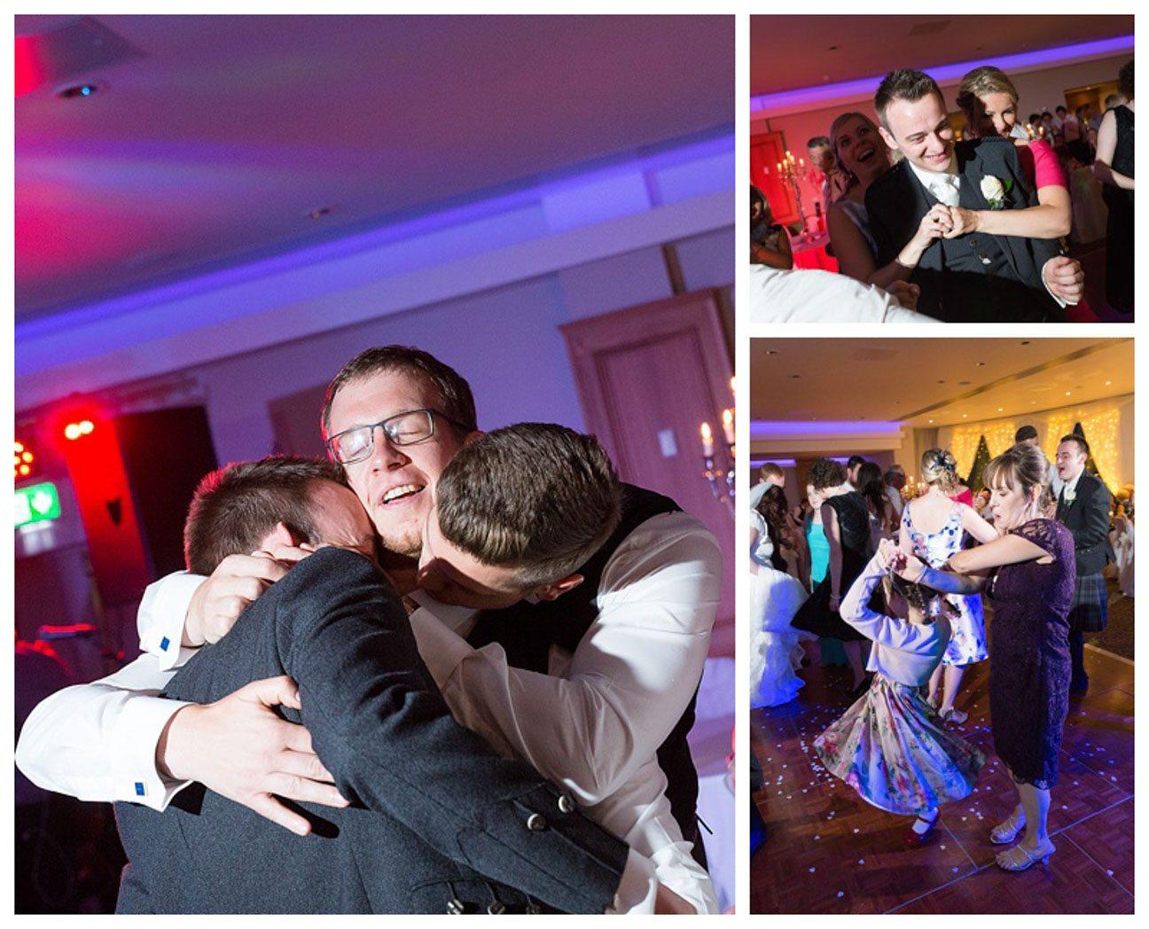 Ballygally Castle Wedding Photographs by Ricky Parker Photography-66