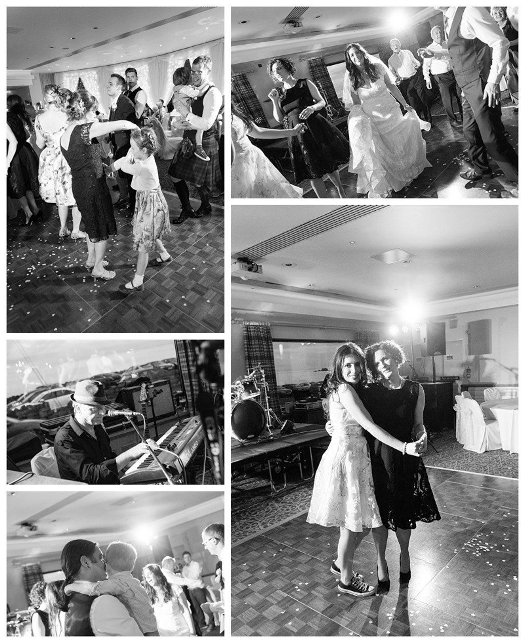 Ballygally Castle Wedding Photographs by Ricky Parker Photography-67
