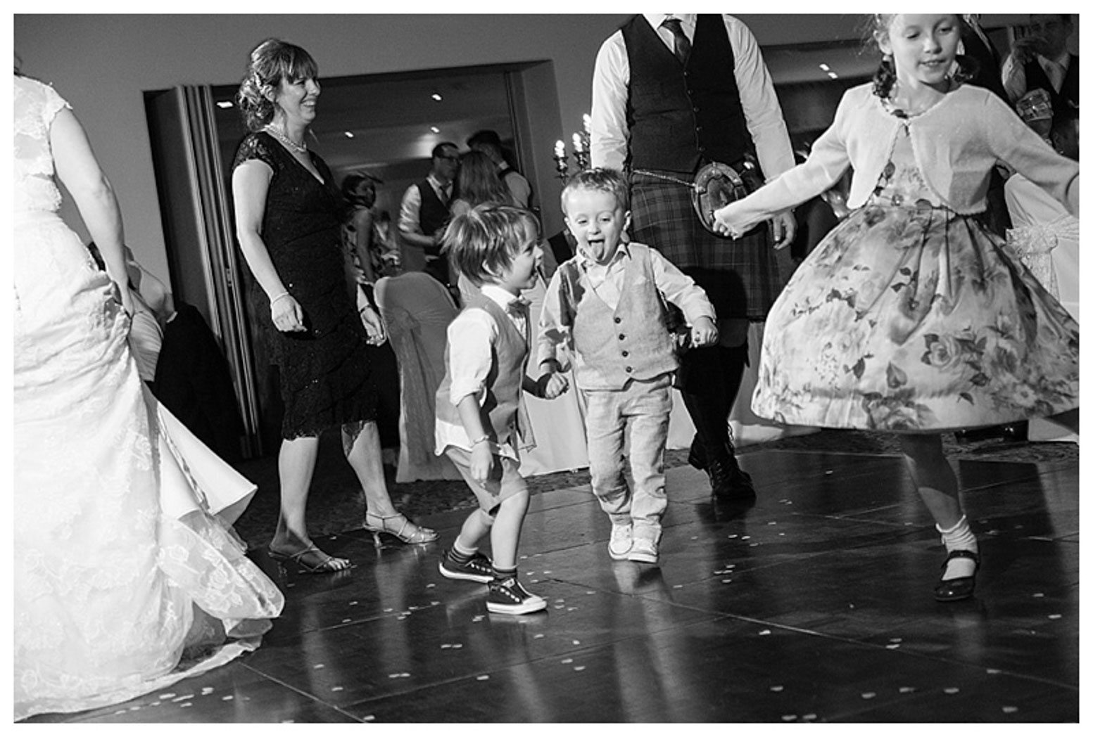 Ballygally Castle Wedding Photographs by Ricky Parker Photography-70