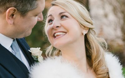 Cultra Manor Winter Wedding: Caroline & Rich