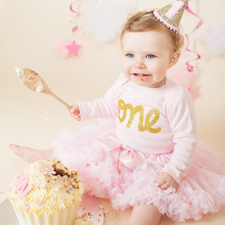 Birthday Cake Smash Photo Session by Ricky Parker Photography