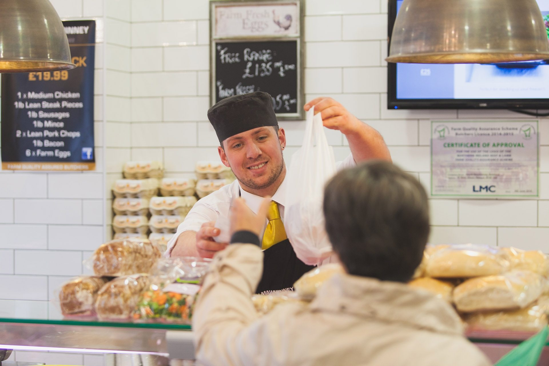 Commercial Event Photography by Bangor Ricky Parker Photography (Mawhinneys Butcher) 1
