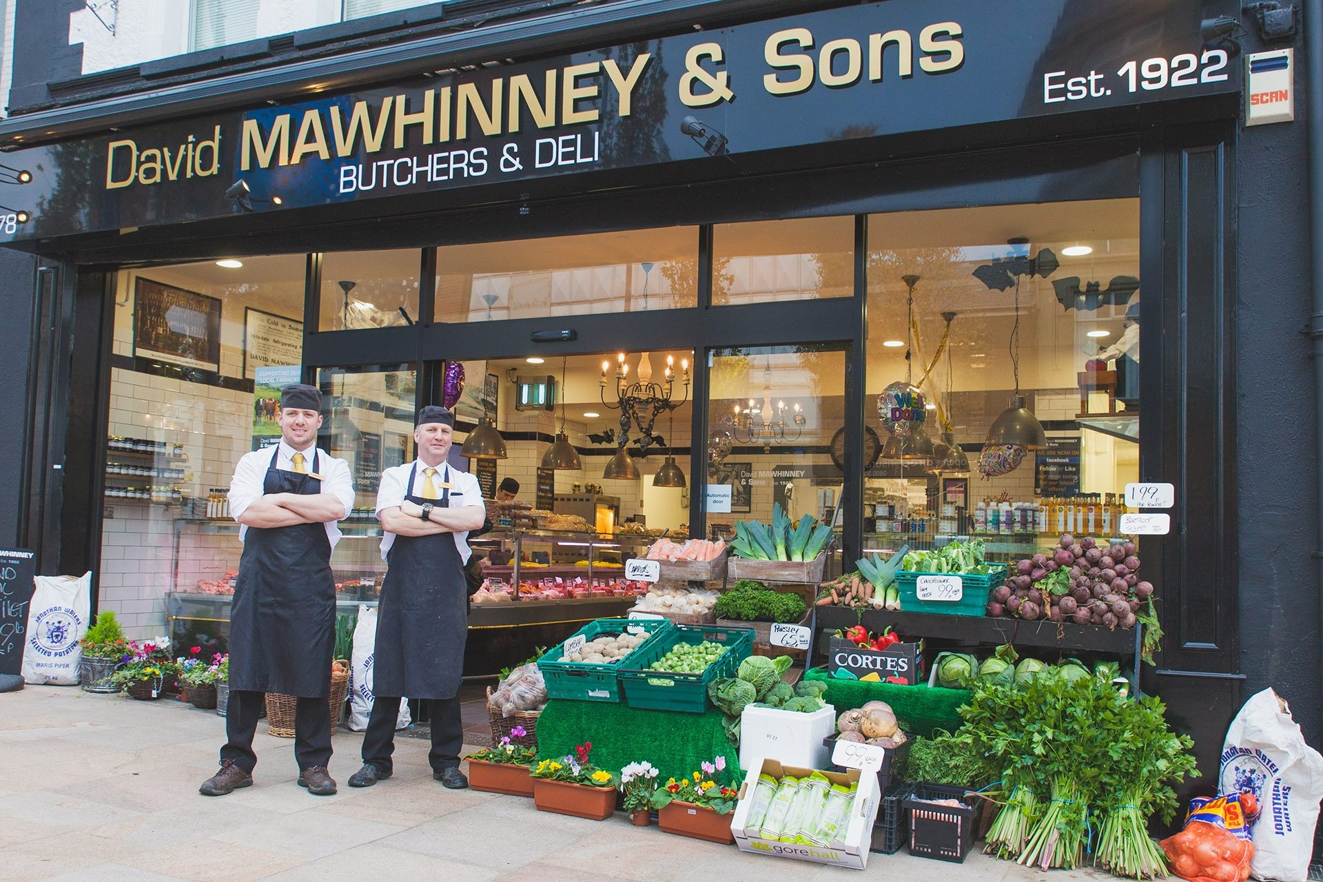 Commercial Photography by Bangor Ricky Parker Photography (Mawhinneys Butcher) 3