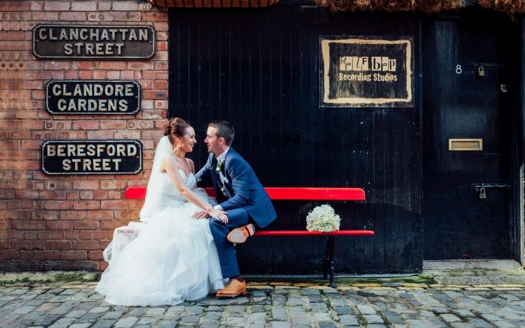 Merchant Hotel & Cathedral Quarter Wedding: Sinead & Colin
