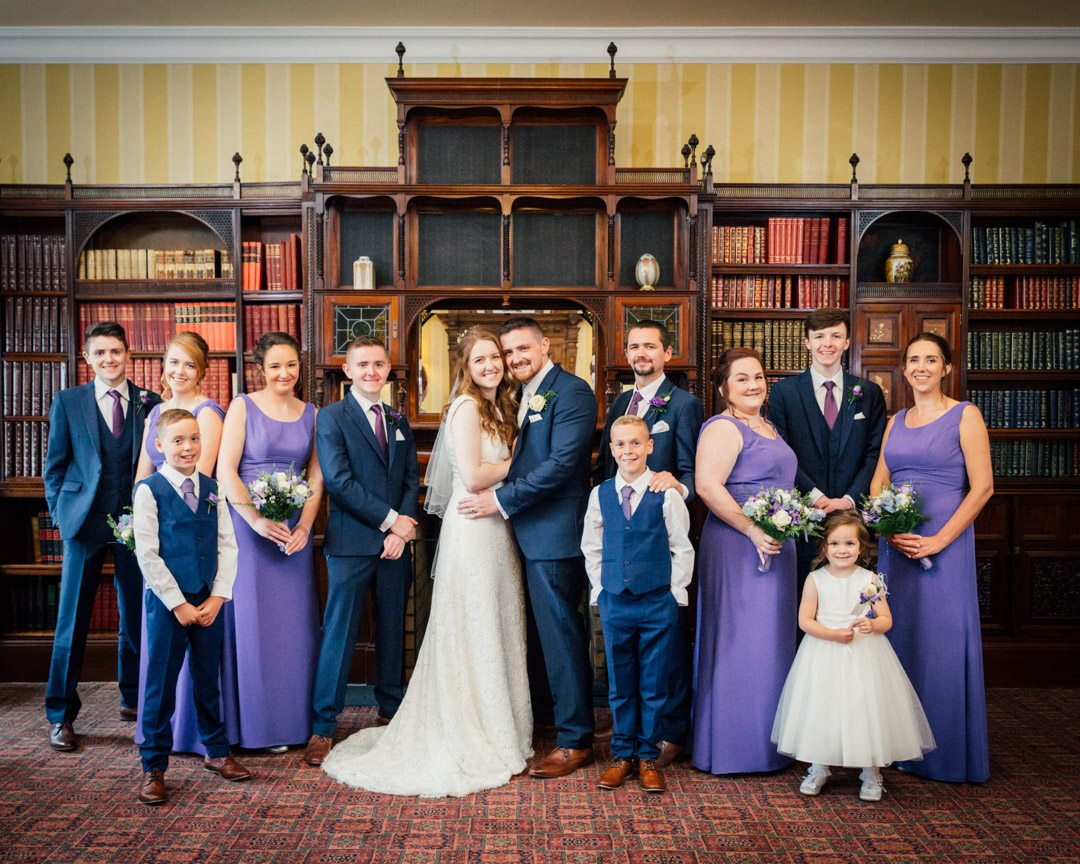 Lough Erne Resort Wedding by Ricky Parker Photography-83
