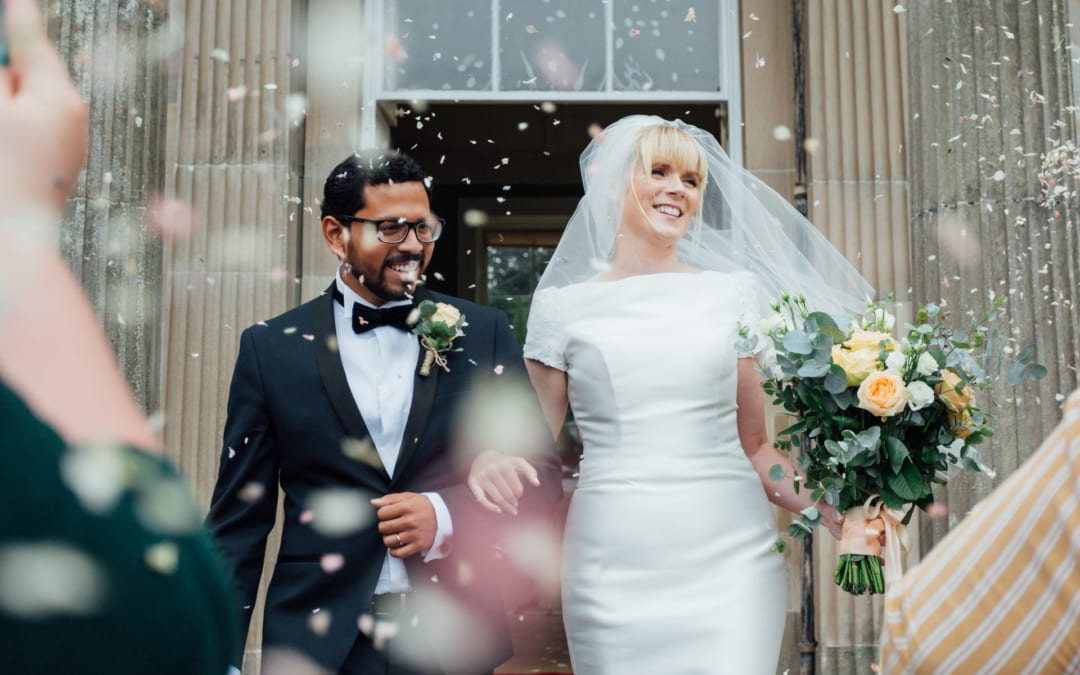 Mount Stewart Wedding: Rachel & Roy at Temple of the Winds