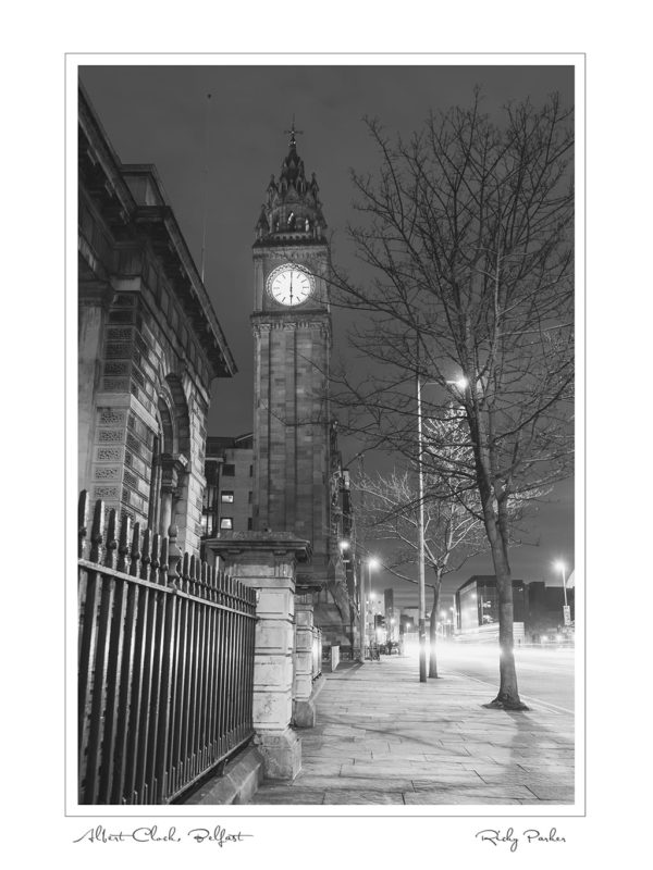 Albert Clock BW by Ricky Parker Photography