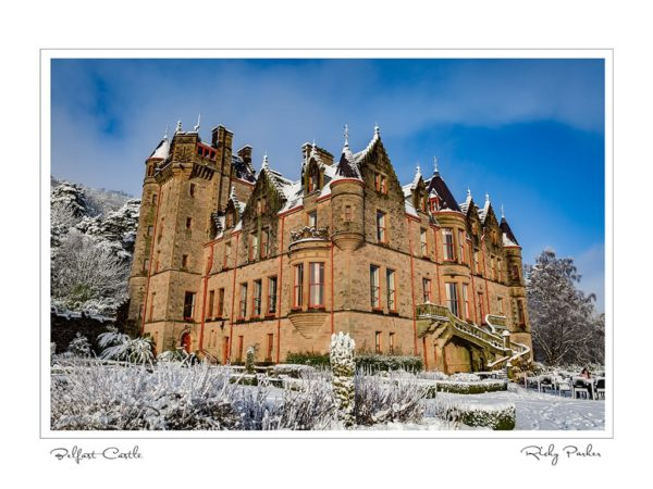 Belfast Castle by Ricky Parker Photography