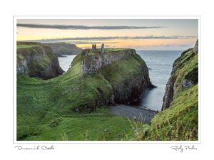 Dunseverick Castle by Ricky Parker Photography