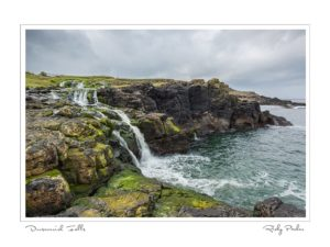 Dunseverick Falls by Ricky Parker Photography