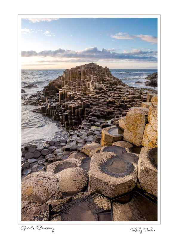 Giants Causeway Portrait by Ricky Parker Photography