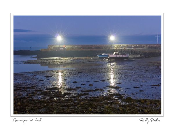 Groomsport at dusk by Ricky Parker Photography