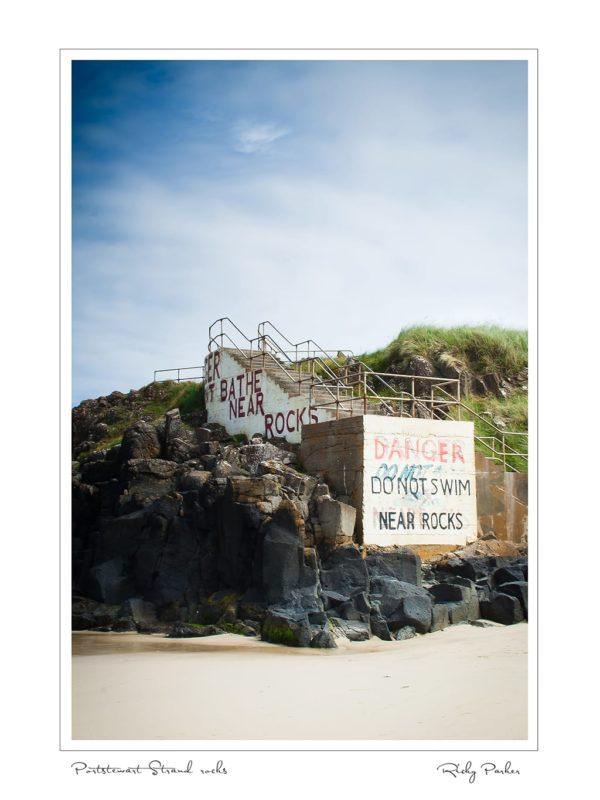 Portstewart Strand Rocks by Ricky Parker Photography