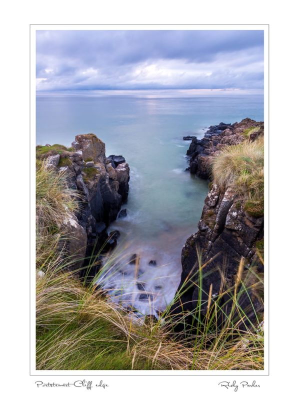 Portstewart cliff edge by Ricky Parker Photography