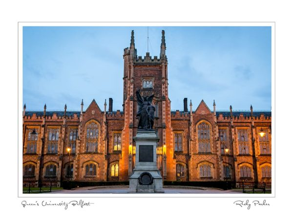 Queens University Belfast by Ricky Parker Photography