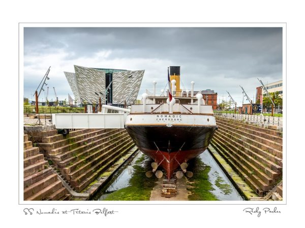 SS Nomadic at Titanic Belfast by Ricky Parker Photography