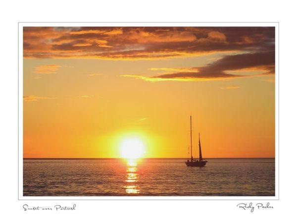 Sunset over Portrush by Ricky Parker Photography