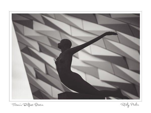 Titanic Belfast Statue by Ricky Parker Photography