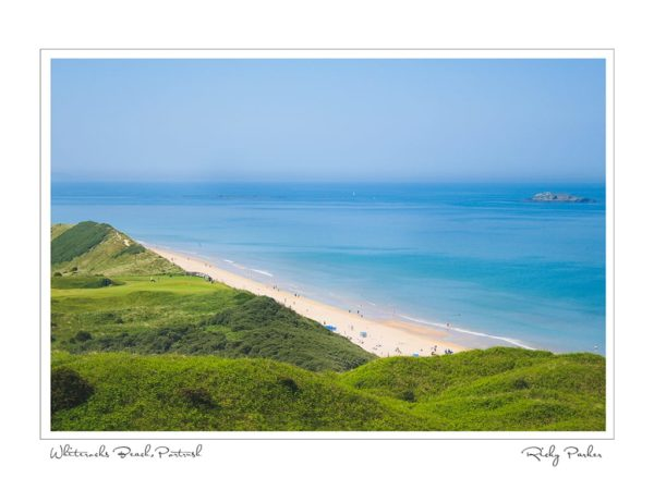 Whiterocks Beach Portrush by Ricky Parker Photography