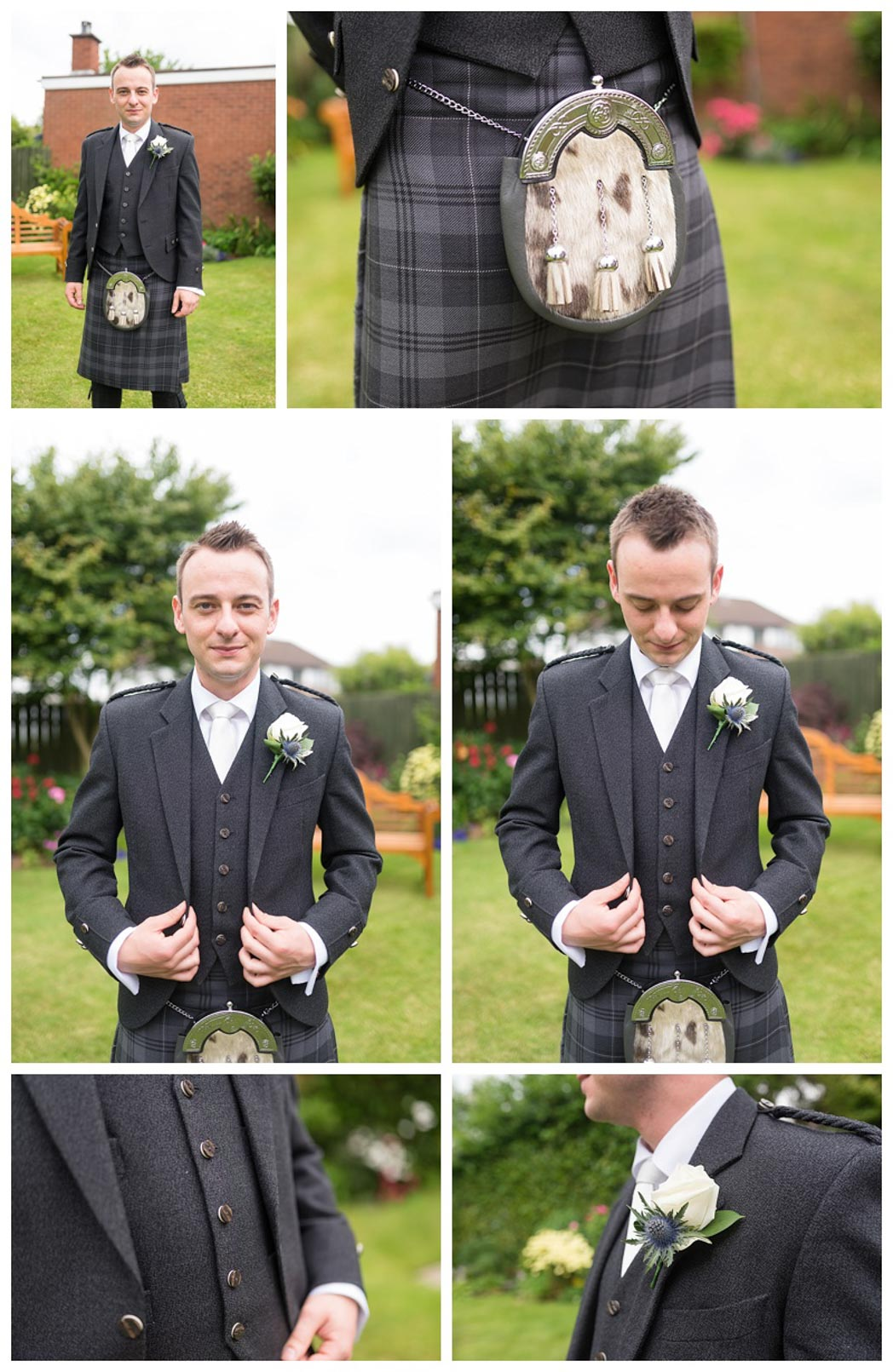 Ballygally Castle Wedding Photographs by Ricky Parker Photography 10