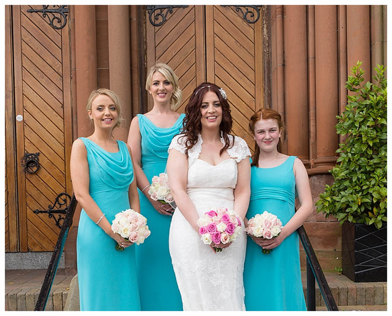 Ballygally Castle Wedding Photographs by Ricky Parker Photography 18