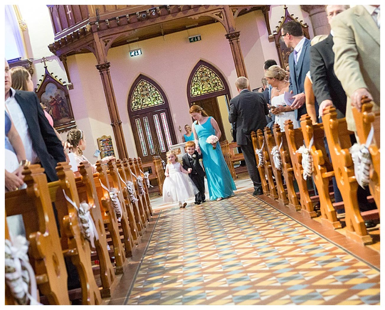 Ballygally Castle Wedding Photographs by Ricky Parker Photography 20