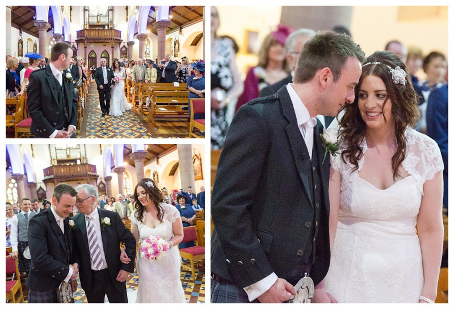 Ballygally Castle Wedding Photographs by Ricky Parker Photography 22
