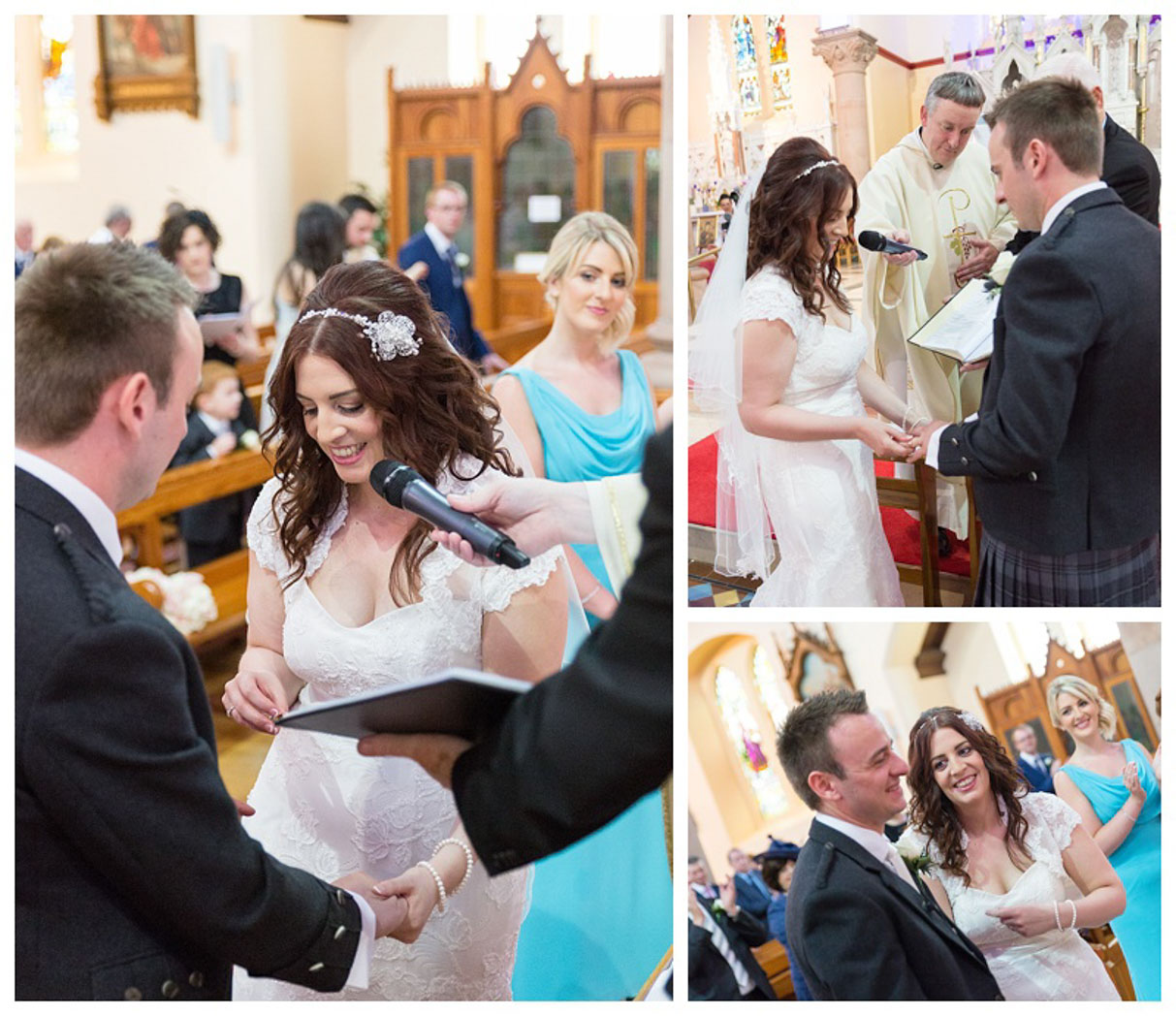 Ballygally Castle Wedding Photographs by Ricky Parker Photography 29