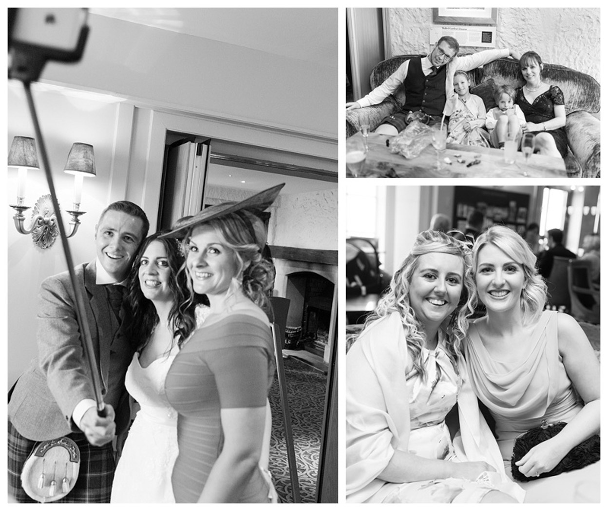 Ballygally Castle Wedding Photographs by Ricky Parker Photography 39