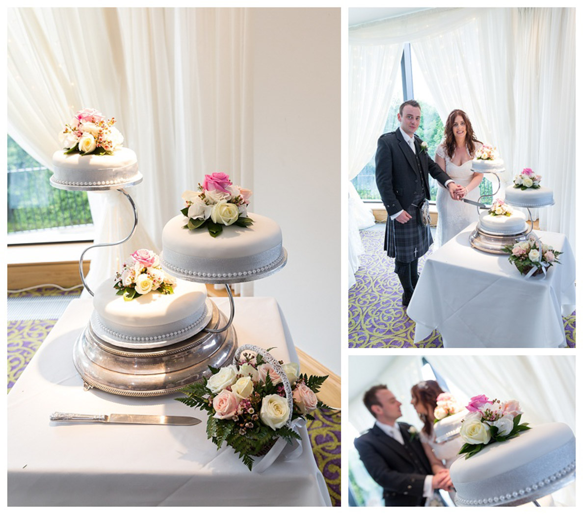 Ballygally Castle Wedding Photographs by Ricky Parker Photography 40