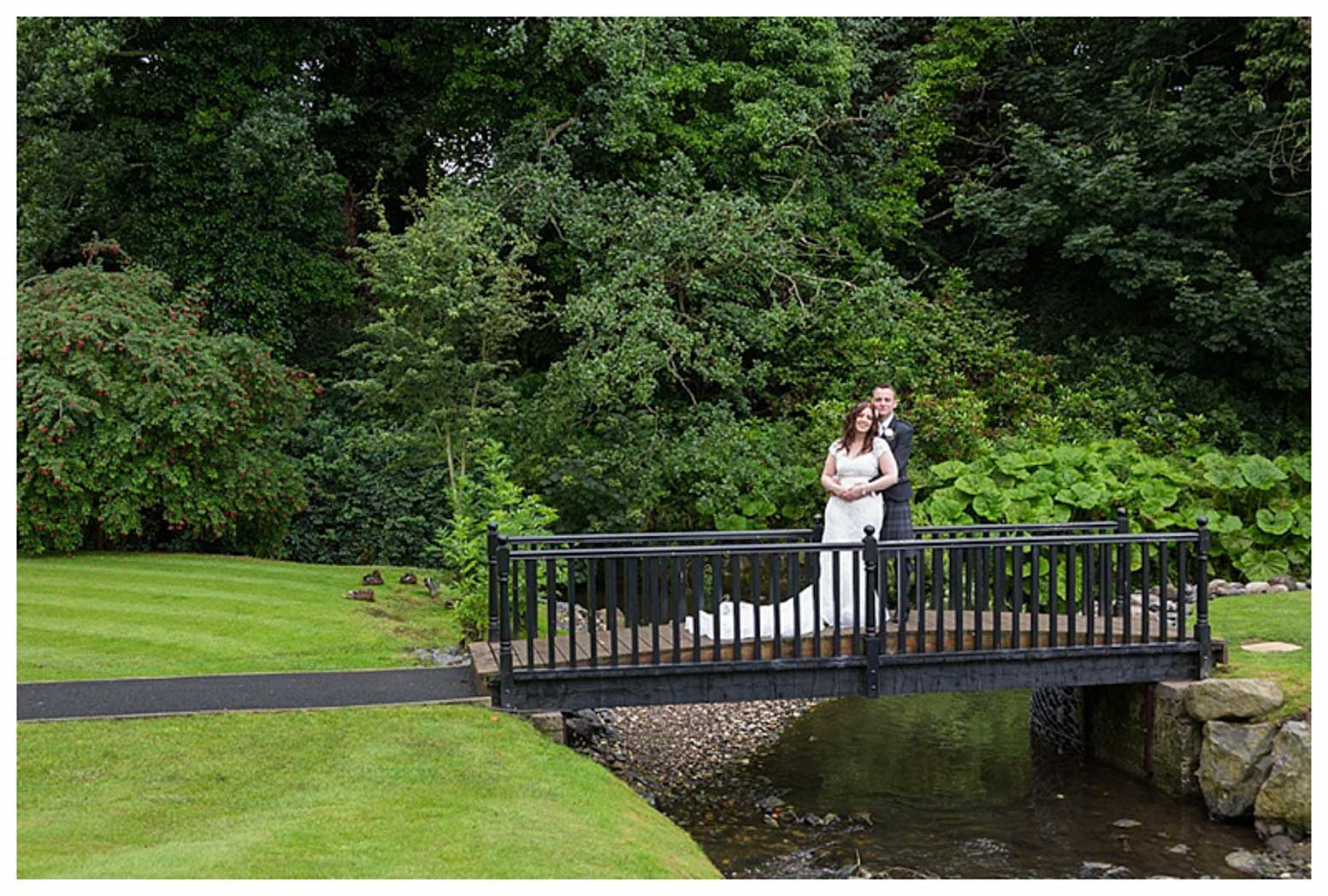 Ballygally Castle Wedding Photographs by Ricky Parker Photography 44
